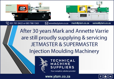 YTSM - Suppliers of Jetmaster and Super Master Injection Moulding Machines in South Africa
